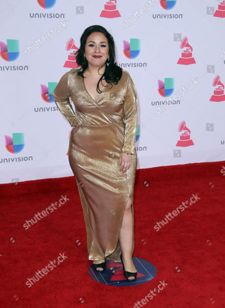 Carla Morrison Arrives at the 17th Annual Latin Grammy Awards at the T-mobile Arena in Las Vegas Nevada Usa 17 November 2016 Latin Grammy Awards Recognize Artistic and Technical Achievement not Sales Figures Or Chart Positions and the Winners Are Determined by the Votes of Their Peers and Qualified Voting Members of the Academy United States Las Vegas