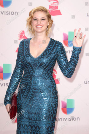 Stock Image of Isabella Prida Arrives at the 17th Annual Latin Grammy Awards at the T-mobile Arena in Las Vegas Nevada Usa 17 November 2016 Latin Grammy Awards Recognize Artistic and Technical Achievement not Sales Figures Or Chart Positions and the Winners Are Determined by the Votes of Their Peers and Qualified Voting Members of the Academy United States Las Vegas