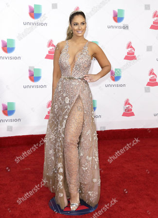 Aleyda Ortiz Arrives at the 17th Annual Latin Grammy Awards at the T-mobile Arena in Las Vegas Nevada Usa 17 November 2016 Latin Grammy Awards Recognize Artistic and Technical Achievement not Sales Figures Or Chart Positions and the Winners Are Determined by the Votes of Their Peers and Qualified Voting Members of the Academy United States Las Vegas
