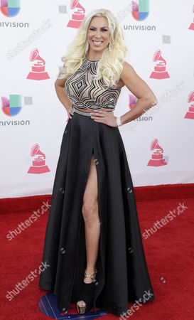 Abigail Pereira Arrives at the 17th Annual Latin Grammy Awards at the T-mobile Arena in Las Vegas Nevada Usa 17 November 2016 Latin Grammy Awards Recognize Artistic and Technical Achievement not Sales Figures Or Chart Positions and the Winners Are Determined by the Votes of Their Peers and Qualified Voting Members of the Academy United States Las Vegas
