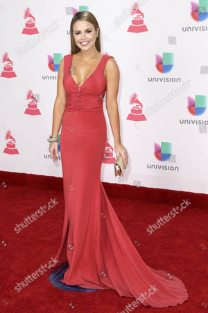 Georgina Palacios Arrives at the 17th Annual Latin Grammy Awards at the T-mobile Arena in Las Vegas Nevada Usa 17 November 2016 Latin Grammy Awards Recognize Artistic and Technical Achievement not Sales Figures Or Chart Positions and the Winners Are Determined by the Votes of Their Peers and Qualified Voting Members of the Academy United States Las Vegas