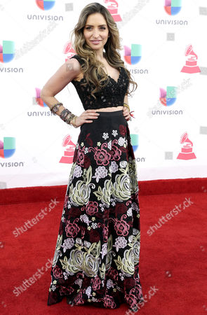 Stock Picture of Mirella Cesa Arrives at the 17th Annual Latin Grammy Awards at the T-mobile Arena in Las Vegas Nevada Usa 17 November 2016 Latin Grammy Awards Recognize Artistic and Technical Achievement not Sales Figures Or Chart Positions and the Winners Are Determined by the Votes of Their Peers and Qualified Voting Members of the Academy United States Las Vegas