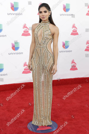 Alejandra Espinosa Arrives at the 17th Annual Latin Grammy Awards at the T-mobile Arena in Las Vegas Nevada Usa 17 November 2016 Latin Grammy Awards Recognize Artistic and Technical Achievement not Sales Figures Or Chart Positions and the Winners Are Determined by the Votes of Their Peers and Qualified Voting Members of the Academy United States Las Vegas