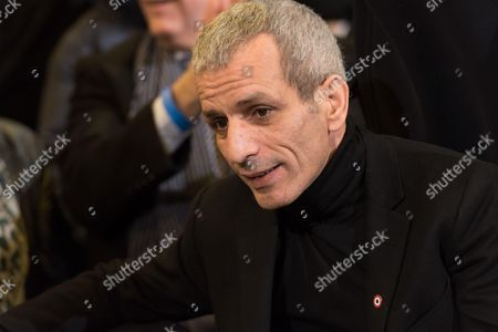 Malek Boutih at the left-wing primary for the 2017 French presidential election at Palais des Sports