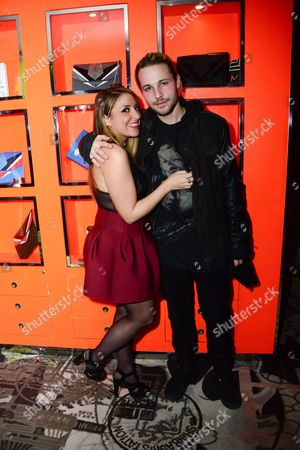 Stock Photo of Mademoiselle Valerie Style and Shawn Pyfrom