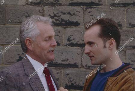 Christopher Chittell (as Eric Pollard) and Gavin Kitchen (as Steve Marshal)(Ep 1771 - 8th June 1993)