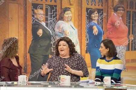 Nadia Sawalha, Cheryl Fergison and Saira Khan