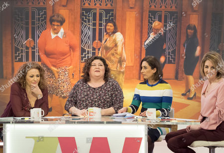 Nadia Sawalha, Cheryl Fergison, Saira Khan and Kaye Adams
