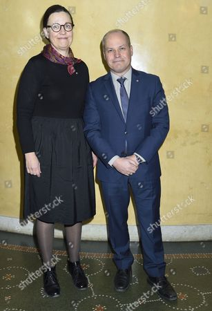 Anna Ekström, gymnasieminister, Morgan Johansson, justitieminister, Attendance at the presentation of scholarships from the Micael Bindefeld Foundation in Memory of the Holocaust, The Royal Swedish Opera,