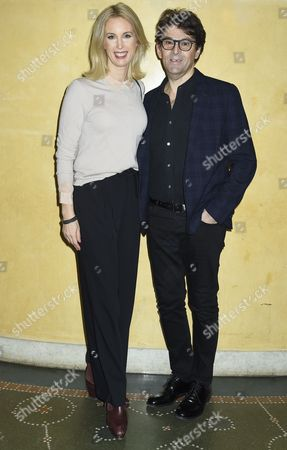 Jenny Strömstedt, Niklas Stromstedt, Attendance at the presentation of scholarships from the Micael Bindefeld Foundation in Memory of the Holocaust, The Royal Swedish Opera,