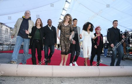Editorial image of Screen Actors Guild Awards Red Carpet Roll-Out ceremony, Los Angeles, USA - 27 Jan 2017