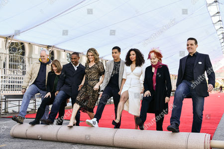 Red Carpet rollout, Vice Chair Daryl Anderson, actors Jason Winston George, actress Missi Pyle, actor Marcus Scribner, actress Jurnee Smollett-Bell, SAG committee member Shelley Fabares and actor Woody Schultz