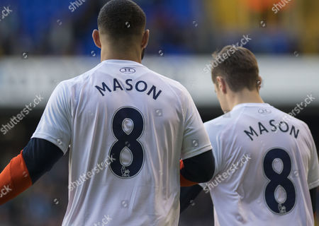 Tottenham Hotspur players wear special tshirts for Ryan Mason 