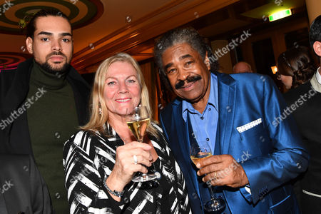 Stock Picture of George McCrae and Sohn Shaka