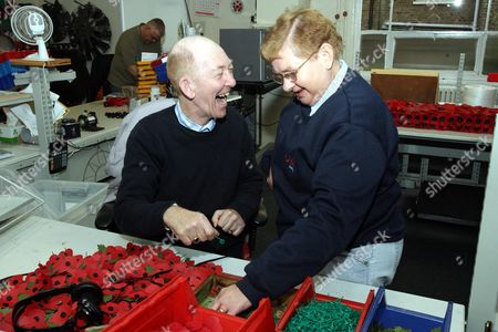 Editorial photo of The Poppy Factory, Richmond Upon Thames, Surrey, Britain - 29 Oct 2008