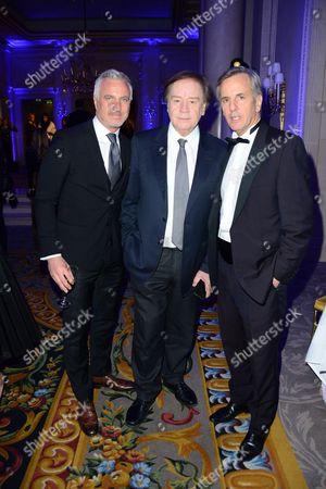 David Ginola, Daniel Lauclair, Bernard de la Villardiere