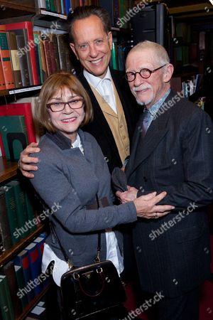 Joan Washington, Richard E Grant & John Hurt