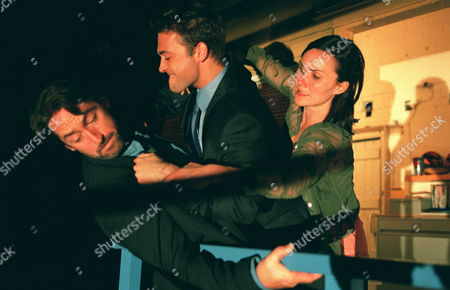 'Blue Dove'   TV  Clare (Esther Hall) tries to stop her twin brother Nick (Paul Nicholls) from fighting with