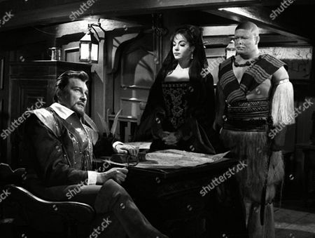 'Sir Francis Drake'   TV - The Prisoner - Terence Morgan, Natasha Parry and Milton Reid
