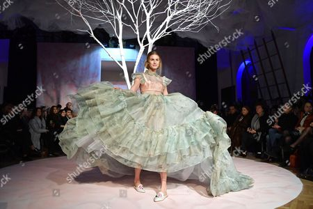 Editorial image of Gattinoni show, AltaRoma Fashion Week, Italy - 27 Jan 2017