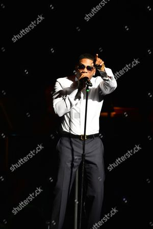 Editorial image of 'A Night of Symphonic Hip-Hop Featuring Nelly', Fort Lauderdale, USA - 26 Jan 2017