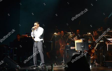 Editorial picture of 'A Night of Symphonic Hip-Hop Featuring Nelly', Fort Lauderdale, USA - 26 Jan 2017