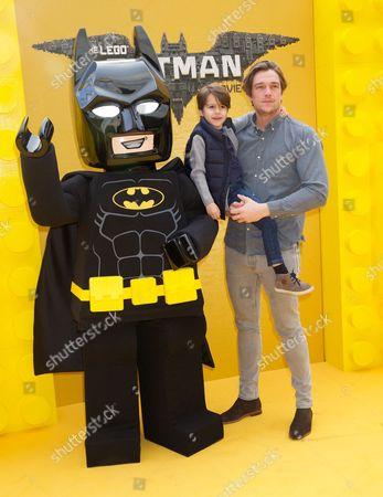 Batman, Teddy (Nephew) and Lewis Bloor