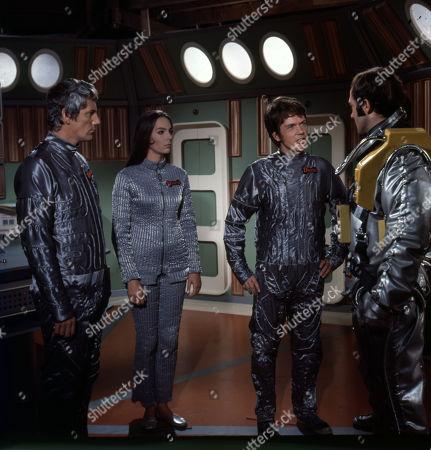 'UFO' - 'The Dalotek Affair' - Clinton Greyn, Tracy Reed, David Weston and Michael Billington