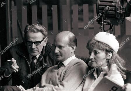 UFO Reg Hill, Gerry Anderson and Sylvia Anderson
