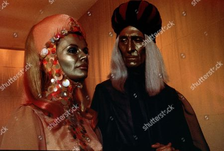 'Space 1999'  - 'Missing Link' -   Peter Cushing and Joanna Dunham