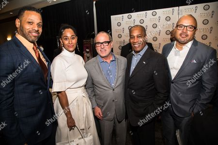 Stock Picture of Carl Seaton, Tracee Ellis Ross, Brad Siegel, Joe Morton, Jubba Seyyid Carl Seaton, from left, Tracee Ellis Ross, Brad Siegel, Joe Morton and Jubba Seyyid at the 48th NAACP Image Awards Nominees' Luncheon, at the Lowes Hotel in Hollywood, Calif. This annual event kicks-off the celebrations for the NAACP Image Awards and honors all of the nominees. The 48th NAACP Image Awards will broadcast LIVE on TV One on Saturday, Feb. 11, 2017, at 9pm/8c as a two-hour special hosted by Anthony Anderson. 90-minute pre-show airs live from the red carpet at 7:30pm/6:30c