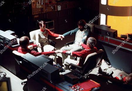Stock Picture of 'Space 1999' Series 2 -TV - The Seance Spectre - Zienia Merton, Ken Hutchison