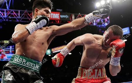 Editorial photo of Zlaticanin Garcia Boxing, Las Vegas, USA - 28 Jan 2017