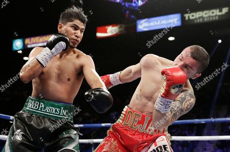 Editorial picture of Zlaticanin Garcia Boxing, Las Vegas, USA - 28 Jan 2017