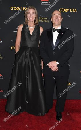 Editorial image of G'Day USA Gala, Arrivals, Los Angeles, USA - 28 Jan 2017