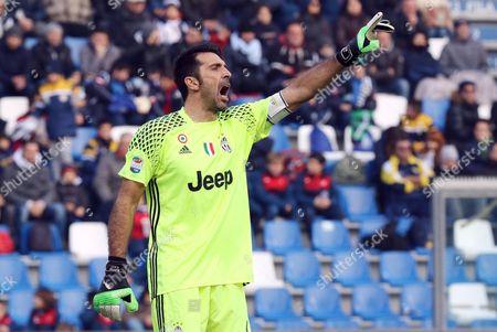 Editorial image of US Sassuolo- Juventus FC, Reggio Emilia, Italy - 29 Jan 2017