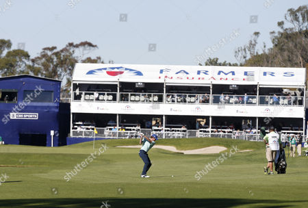 Roberto Castro in action during the third round of the Farmers Insurance Open at Torrey Pines South on , in San Diego, California