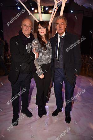 Stephen Dominella, Lorena Bianchetti, Massimo Giletti