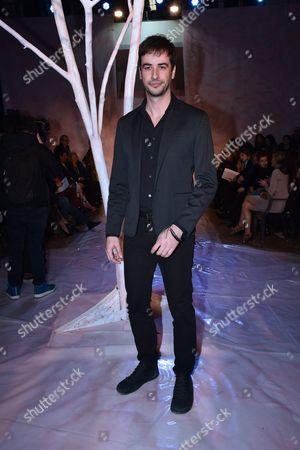 Editorial photo of Gattinoni show, Arrivals, AltaRoma Fashion Week, Italy - 27 Jan 2017