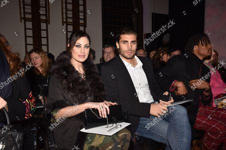 Stock Picture of Francesca Testasecca and Mario Ermito