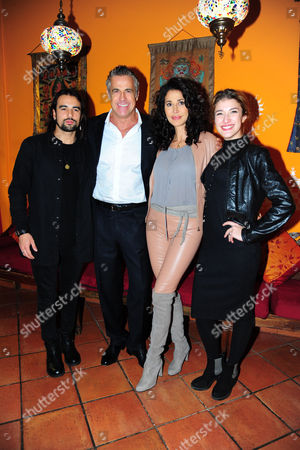 Stock Photo of Giorgio Adamo, Edoardo Costa, Beatrice Baldaccini, Gloria Grace