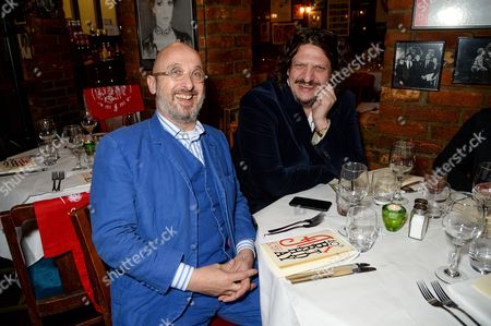 Jon Spiteri and Jay Rayner