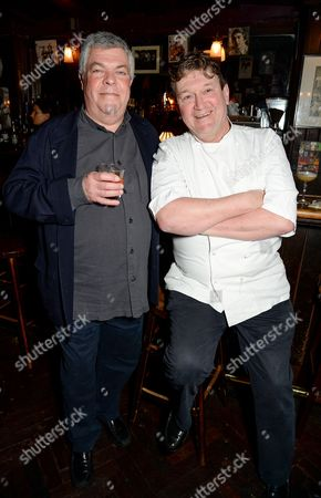 Stock Photo of Simon Hopkinson and Rowley Leigh