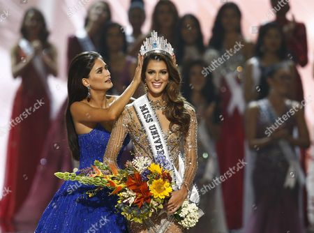 Editorial photo of France wins 65th Miss Universe pageant, Manila, Philippines - 30 Jan 2017