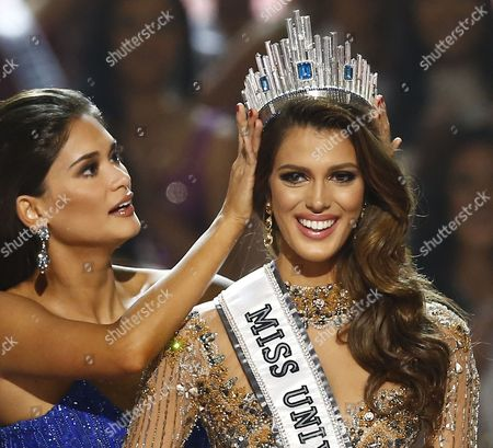 Editorial picture of France wins 65th Miss Universe pageant, Manila, Philippines - 30 Jan 2017