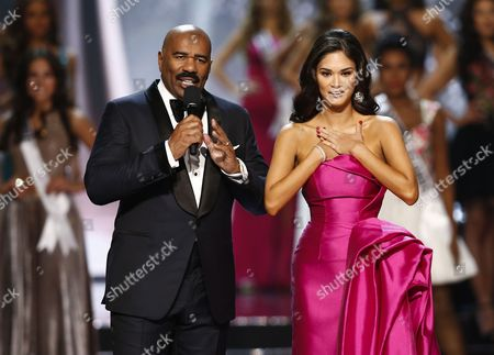 Steve Harvey and Pia Wurtzbach