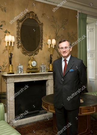 Stock Picture of Charles Gray, Her Majesty's Marshal of the Diplomatic Corps, St. James's Palace