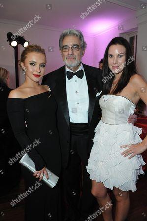Hayden Panettiere, Placido Domingo and Cassandra Mann