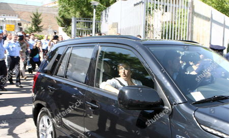 69-year-old Son of Italy's Last King Vittorio Emanuele Di Savoia Sits on Rear Seat of Black Car with His Lawyer Giulia Bongiorno (seated at Front Seat) As It Leaves the Potenza Prison on Friday 23 June 2006 Vittorio Emanuele of Savoia was Released to Continue His House Arrest in Rome Emanuele Di Savoia was Arrested on Friday 16 June As Part of a Two-year Investigation Into Corruption and Prostitution Reports Said Investigators Suspected Vittorio Emanuele of Having Contacts with the Mafia and of Helping Procure Prostitutes For Clients of the Casino in Campione D'italia Italy Potenza
