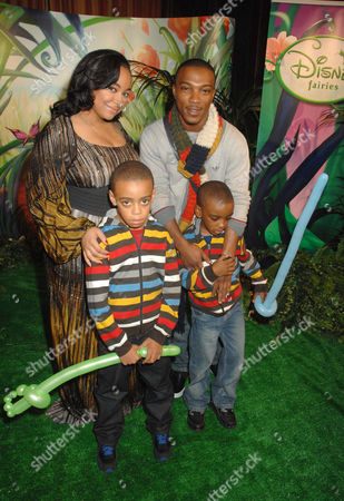 Raven Symone and Ashley Walters and children